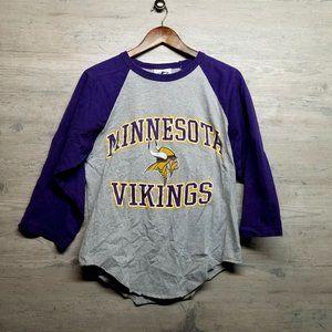 Minnesota Vikings Long Sleeve Shirt. Perfect! Soft